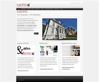 Ilscipio - Redesigned Website 2011 - small